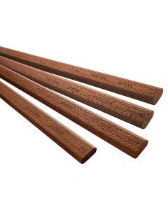 Festool 498691 Domino XL Sipo Mahogany Tenon, 10 x 24 x 750mm, 28 Piece