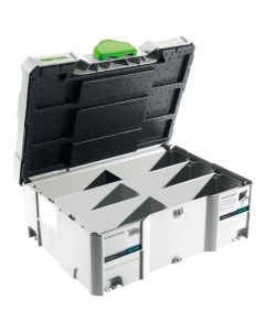 Festool 498889 SYS2TL Systainer 2 w/Domino Dividers