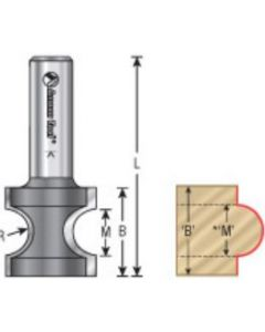 Bullnose Router Bits