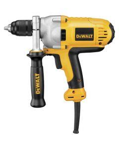 "DeWalt DWD215G 1/2"" VSR Mid-Handle Grip Drill, 10 Amp, with Keyless Chuck"