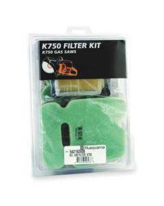Husqvarna 542192608 Air Filter Kit, K750/760