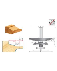 Traditional Raised Panel Router Bits w/ Back Cutter