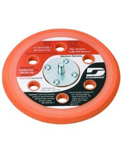 "56105 6"" PSA Vacuum Disc Sanding Backup Pad with 5/16-24 Thread"
