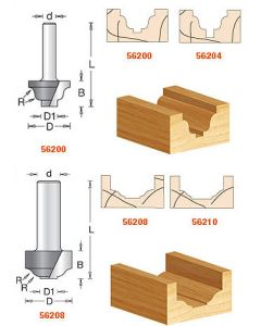 Plunging Ogee Stile Cutter