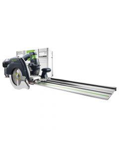 Festool 575085 HK 55 EQ F Plus Cross Cutting Circular Saw with FSK 420 Guide Rail