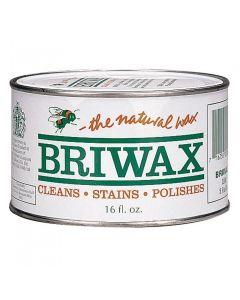 Briwax Clear Solvent Based Wood Wax, 16 oz.