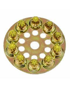 4D60 Ramset Yellow Disc Loads, 25 Caliber, 100/Box