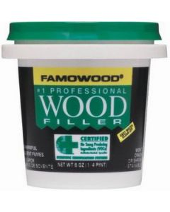 40042126 Famowood Water Based Wood Filler, 6 oz, Natural