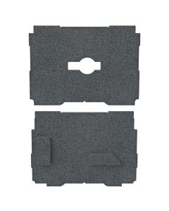 TSO Products 61-244 Dual FoamPac Systainer Insert for GRS 16