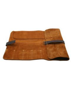 845-2150 8-Pocket Leather Chisel Roll