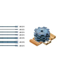 Individual Prestige Mighty Dado Groovers for Shaper Machines