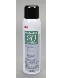 3M Woodworking 20 Spray Adhesive Clear
