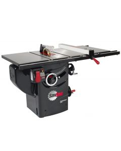 "SawStop 10"" 1.75 HP Professional Cabinet Saw with 30"" Fence System, Rails and Extension Table"
