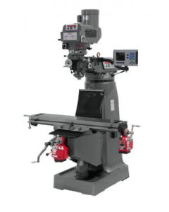 JET 690140 JTM-4VS Milling Machine with 3-axis ACU-RITE 200S DRO (Quill), X and Y Powerfeed Installed)