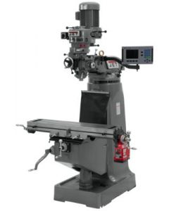 JET 690168 JTM-1 Milling Machine with X Axis Acu-Rite 200S 2-Axis DRO & X-Axis Powerfeed