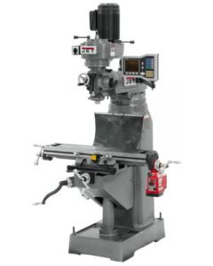 JET 690198 JVM-836-1 Milling Machine with VUE DRO and X Powerfeed Installed