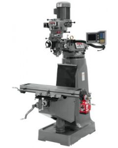 JET 690286 JTM-2 Milling Machine with VUE DRO & X-AXIS POWERFEED Installed