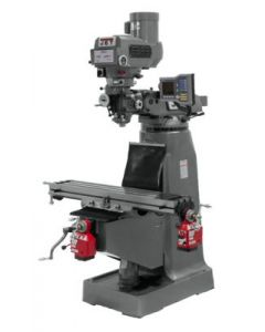 JET 690420 JTM-4VS Milling Machine with Anilam 411 2-Axis DRO & X & Y-Axis Powerfeeds