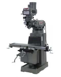 JET 691209 JTM-1050 Milling Machine with Newall DP700 3-Axis DRO & X & Y-Axis Powerfeeds (Quill)
