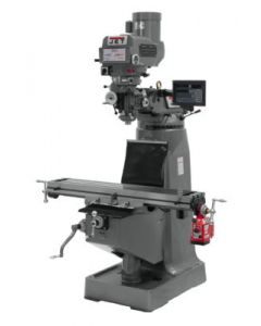 JET 691232 JTM-4VS Milling Machine with Newall DP700 3-Axis DRO & X-Axis Powerfeed (Knee)