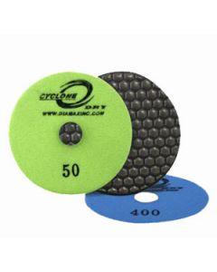 "CDP4400 Diamax Cyclone Dry Polishing Disc, 4 "", 400 Grit"