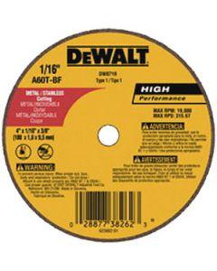 """3"""" x .035"""" x 3/8"""" A60 Cut-off Wheel, DW8712"""