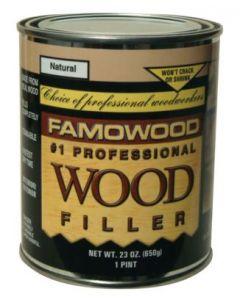 36041144 Famowood Wood Filler, 6 oz, White