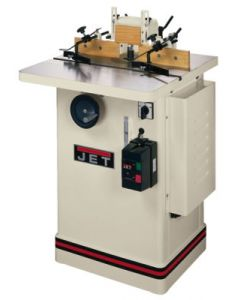 """JET 708322 JWS-25CS, 3HP Shaper, 1Ph 230V Only, 1/2""""and3/4"""" Spindles, 25""""x25"""" Table"""