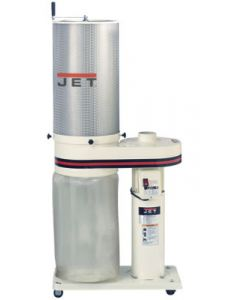 JET 708642CK DC-650CK 1 HP 115/230 V 1 Phase Dust Collector with 1 Micron Canister Filter