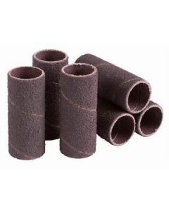 """SS-016016-120A6 Standard Fine Grade Sanding Sleeve, 1"""" x 1"""", 120 Grit"""