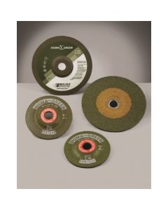 """4-1/2"""" x 5/8-11 36G SIGMA Green Stainless Grinding Wheel"""