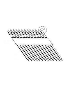 "GRSP16DZH Grip-Rite 3-1/2"" Clipped Head Stick Nail, 0.131"", Galanized"