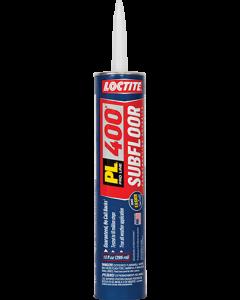 Henkel Loctite® PL® 828444 Heavy-Duty Subfloor & Deck Construction Adhesive, 10.2 oz, Light Tan, Thick Paste