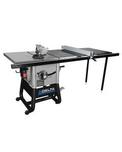 "36-5152 10"" Left Tilt Table Saw with 52"" Right Hand Rip & Cast Wings"