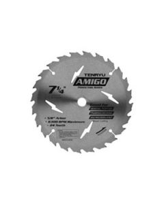 "8-1/4"" 18T, 5/8"" KO Arbor, ATB Saw Blade for Fast Wood Cutting, PT-21018"
