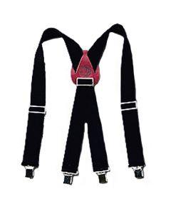 Occidental 9020B Oxy Nylon Adjustable Suspenders, Black