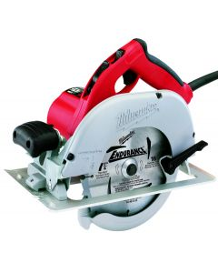 "Milwaukee 6391-21 7-1/4"" Left Blade Circular Saw with Case, 15 Amp"