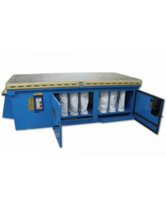 "Denray 9600 Wood Sanding Downdraft Table, 48"" x 96"""
