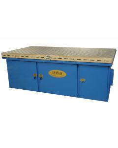 "Denray 9600B Wood Sanding Downdraft Table, 48"" x 96"""