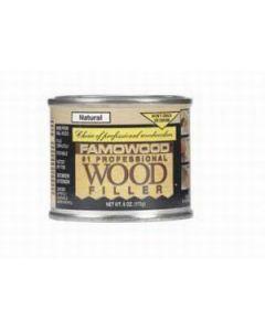 36041126 Famowood Wood Filler, 6 oz, Natural