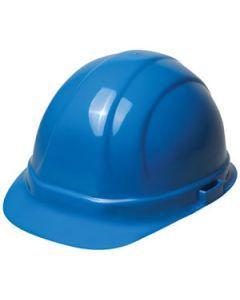 ERB Omega II Blue Hardhat, 6-Point Ratchet Suspension