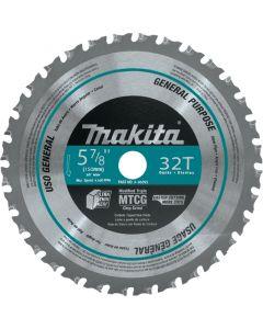 "Makita A-96095 5-7/8"" 32T Circular Saw Blade for Ferrous Metals"