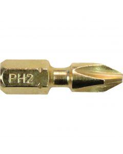 Makita Impact GOLD® B-34958 000-P2 #2 Phillips Screwdriver Insert Bits, 15/Pack