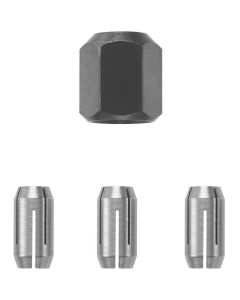Rotozip CN1 Replacement Collet and Nut Kit, 3/Pack