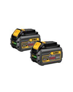 DeWalt DCB606-2 Flexvolt 20V/60V 6.0 Ah Cordless Batteries, 2-Pack