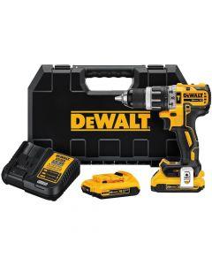 DeWalt DCD796D2 20V XR Brushless Compact Hammer Drill Kit