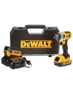 "DeWalt DCF880M2 20V Max Lithium-Ion Cordless 1/2"" Impact Wrench Kit, 4.0Ah Batteries"