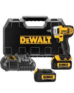 """DeWalt DCF883L2 20V Max 3/8"""" Impact Wrench Kit with Hog Ring Anvil, 3.0Ah Batteries"""
