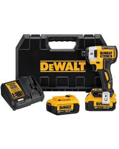 DeWalt DCF887M2 20V MAX Cordless Impact Driver Kit, 4.0 Ah