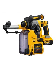 DeWalt DCH273P2DH 20V MAX XR Brushless SDS Plus Cordless Rotary Hammer Kit with Dust Extraction